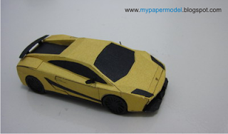 Lamborghini Gallardo Superleggera (LP570-4) Papercraft