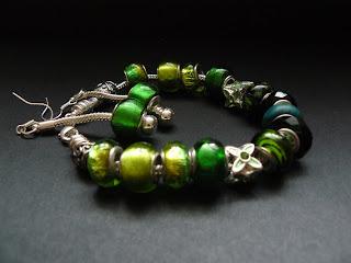pandorka - zestaw zielony (komplet)