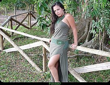 conjunto verde musgo