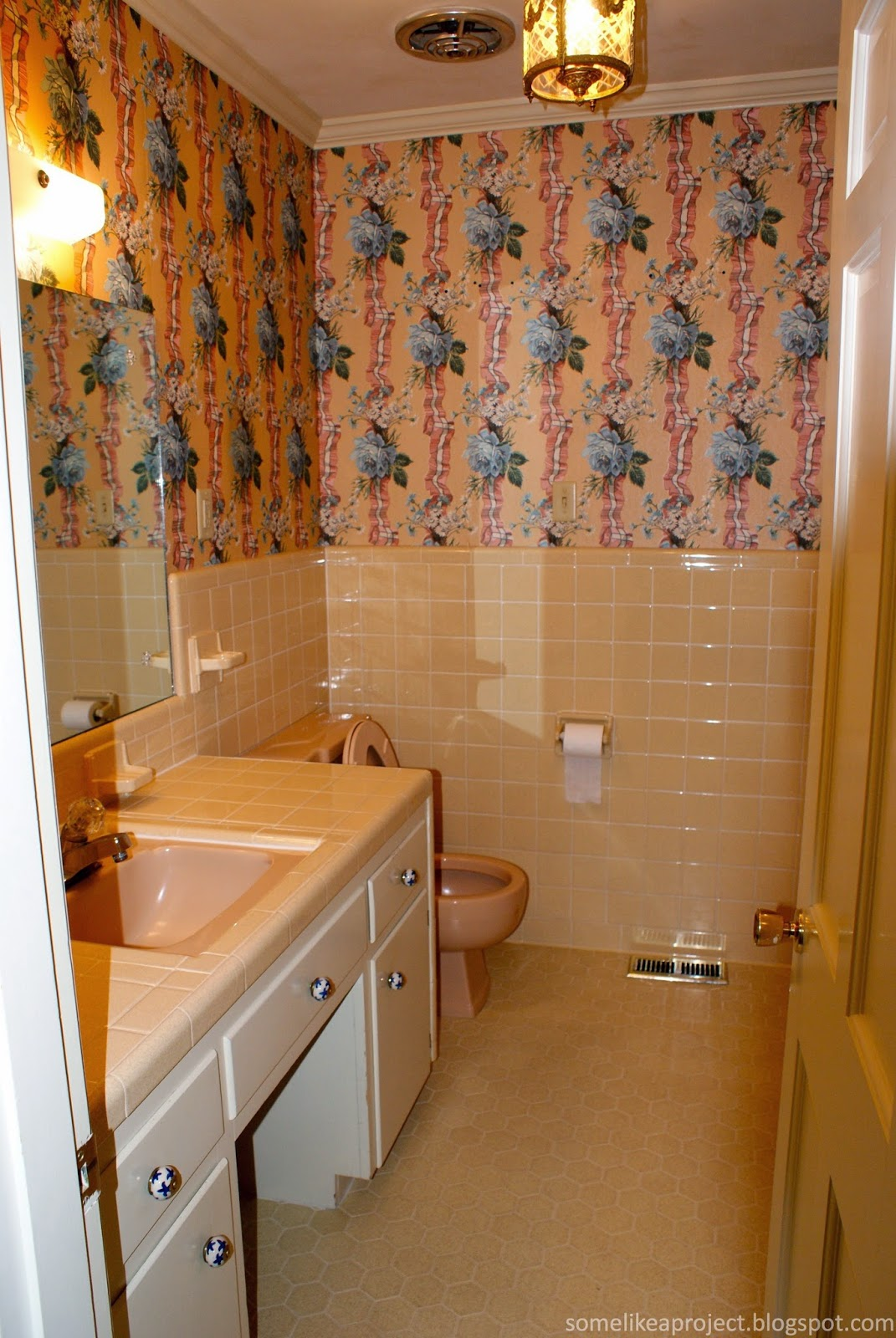 Some Like A Project Guest Bathroom Reveal Making The Most Of 1960s Tile