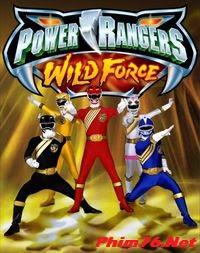 Siêu Nhân Gao Mỹ: Sức Mạnh Hoang Dã - Power Rangers Wild Force