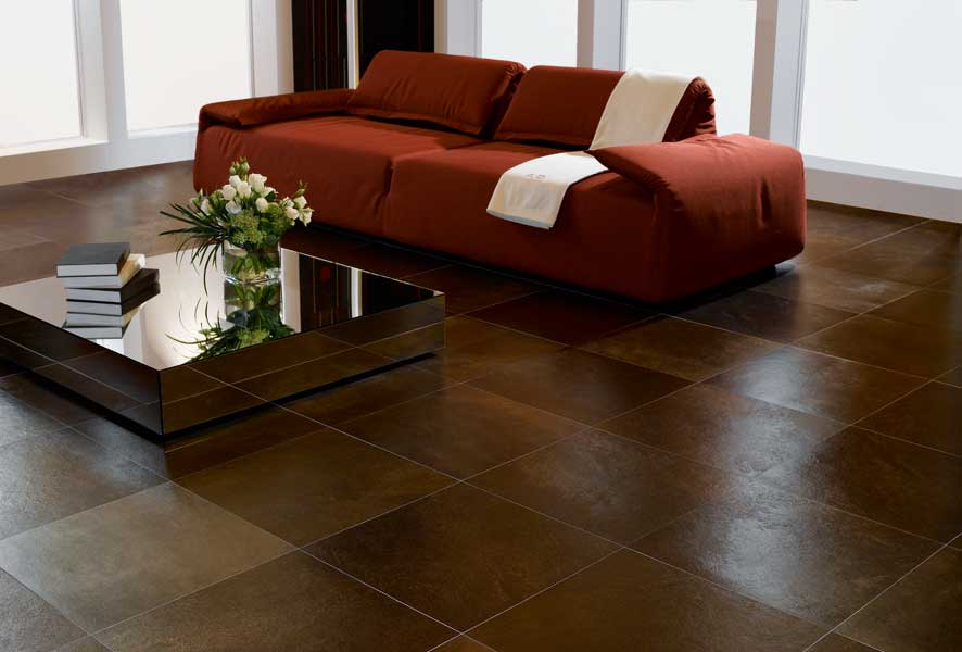 Tiles In A Living Room Of Interior Design Ideas Living Room Flooring Tips House
