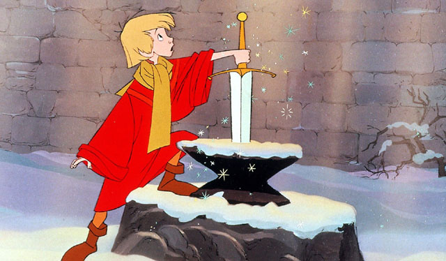 SWORD IN THE STONE 王様の剣