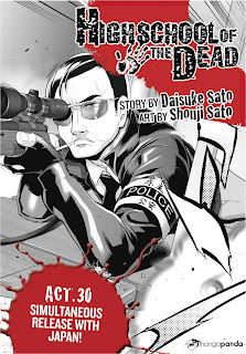 Highschool of the dead 30 Mangá Português leitura Online Agaleradosanimes.net