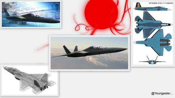 jet tempur siluman Jepang