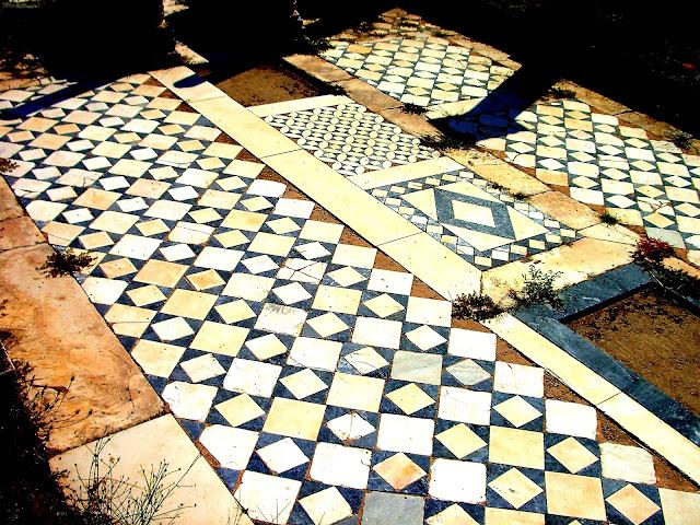 Floor Detail of Small Basilica at Heraclea Lyncestis