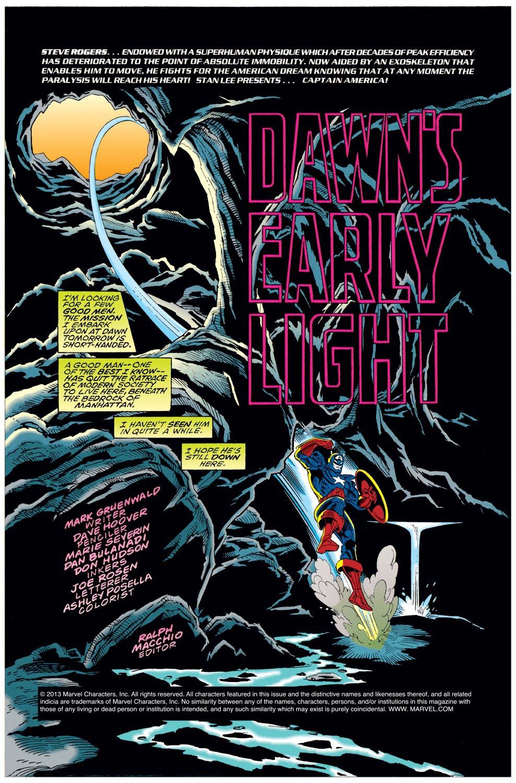 Captain America (1968) Issue #440 #392 - English 2