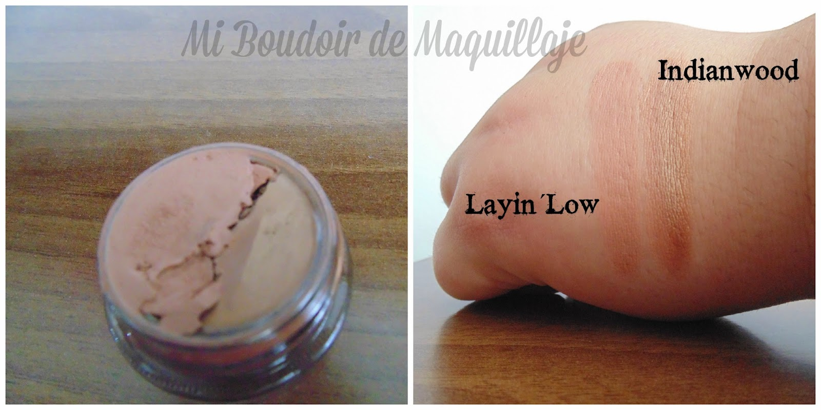 Laying´low y Indianwood paint pot Mac