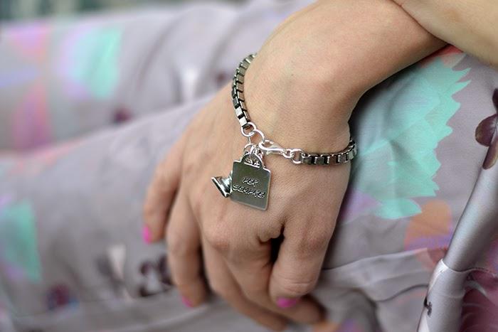 bracciale argento con placchetta