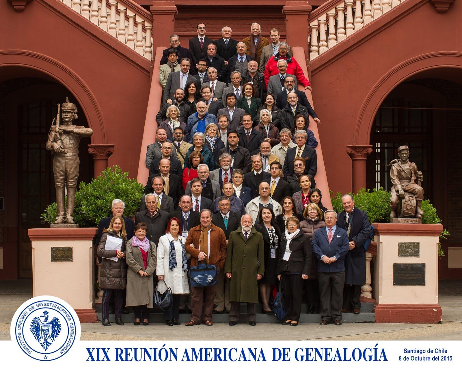XIX Reunión Americana de Genealogía, en Santiago de Chile