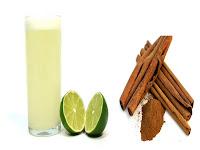 suco-de-limão-com-canela