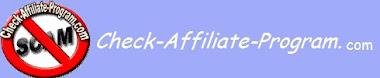 Check affiliate program