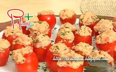 Pomodorini Ripieni di Sgombro di Cotto e Mangiato