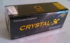 Manfaat kegunaan crystal x untuk wanita