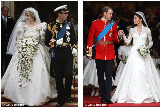 princess diana wedding dress train length. 2011 Princess Diana#39;s