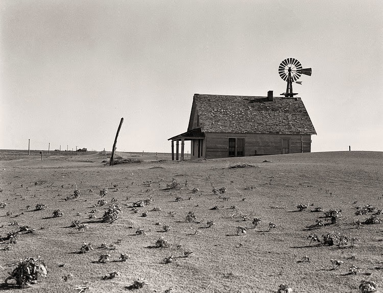 Amazing Black and White Pictures of Scenes from the Dust ...