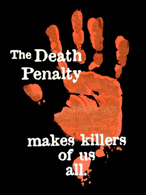 the death penalty is it justified The death penalty the death penalty is a punishment for a criminal offense by death, also called capital punishment usual methods of the death penalty include hanging, electrocution, lethal injection, lethal gas or firing squad.