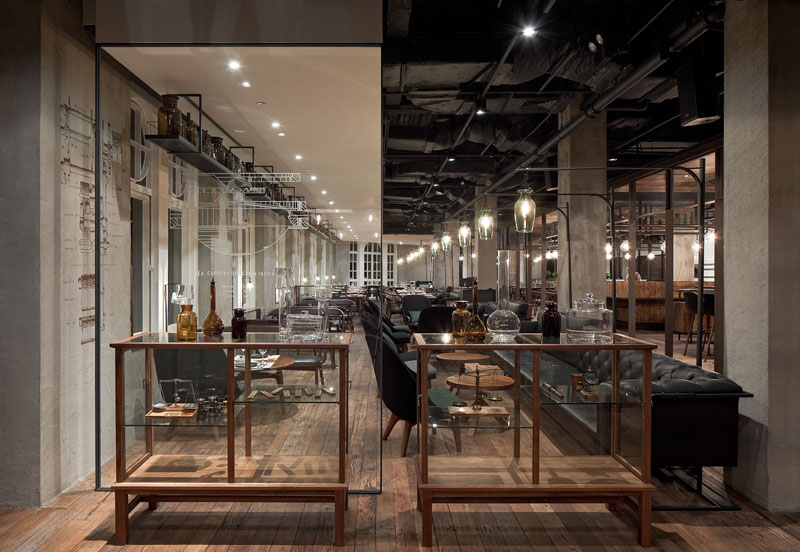 Ilia estudio interiorismo un restaurante 3 estrellas for Interiorismo restaurantes