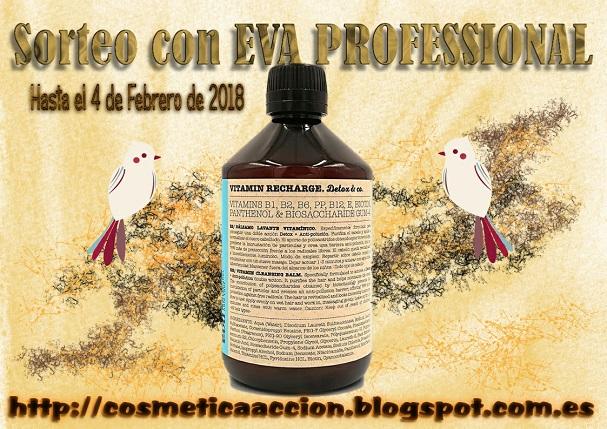 """Sorteo de """"Cosmetica en Accion"""" y Eva Professional"""