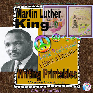 https://www.teacherspayteachers.com/Product/Martin-Luther-King-Jr-Writing-Printables-Martin-Luther-King-Photo-Montage-1637773
