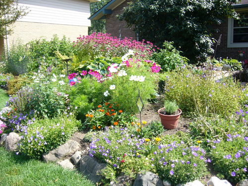 Flower garden home decorating for Flower garden designs