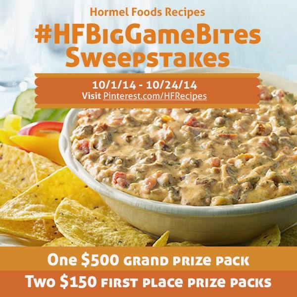 big games bite pinterest sweepstakes #hfbiggamebites