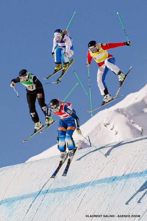 Coupe du monde de Skicross - Arosa - Suisse - ©LAURENT SALiNO / AGENCE ZOOM