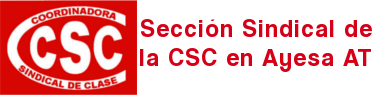 Sección Sindical de la CSC en Ayesa AT