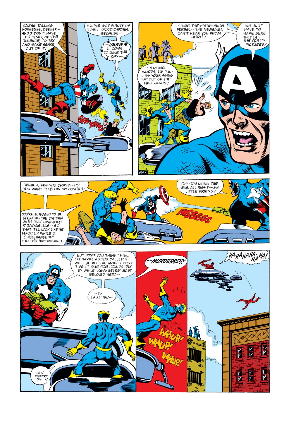Captain America (1968) Issue #262 #177 - English 17