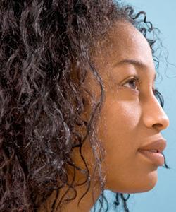 heat damaged ends - natural hair