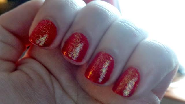 christmassy nail polish