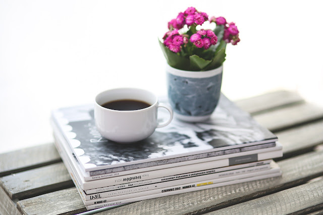 coffee magazines home decor pretty