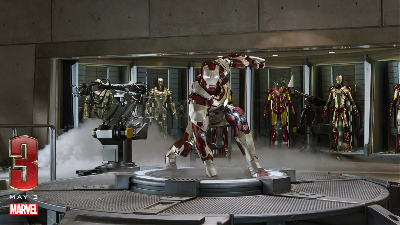Iron Man 3 2013 HD Wallpapers 1080p Free Download At Hdwalle May 1920x1080