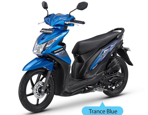 New Honda BeAT-FI Trance Blue