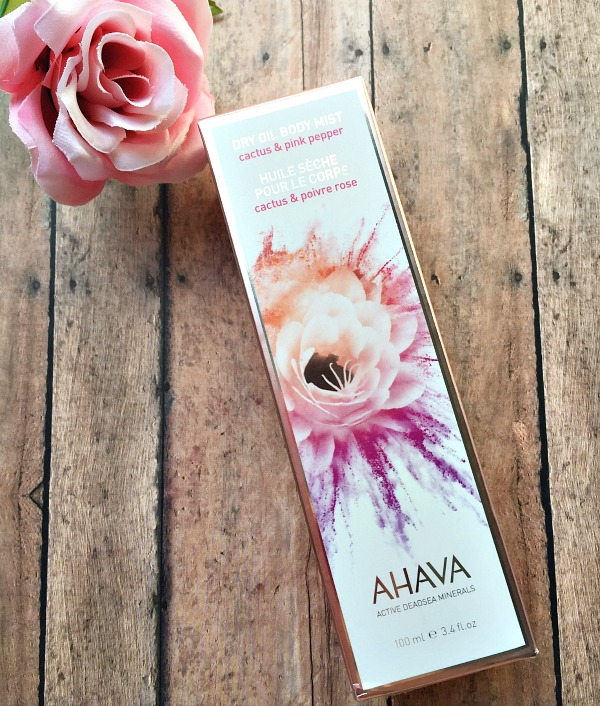 ahava dry oil body mist review