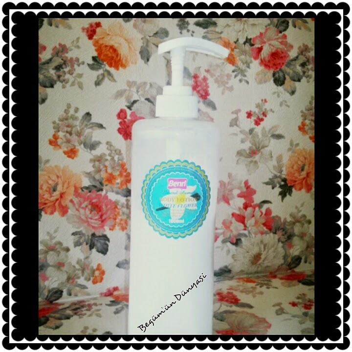 Benri body lotion
