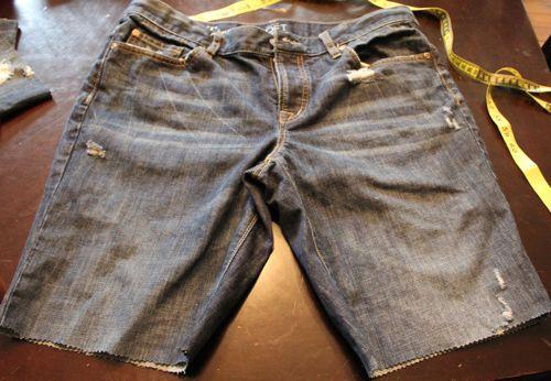 DIY Denim Shorts | HelloGlow.co