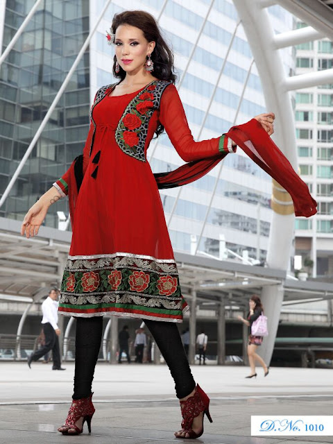 Designer Anarkali Salwar Kameez, Fancy Embroidery Anarkali Salwar Suits in Gaziyabad