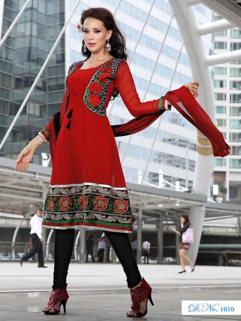 Designer Anarkali Salwar Kameez, Fancy Embroidery Anarkali Salwar Suits in Gaziyabad
