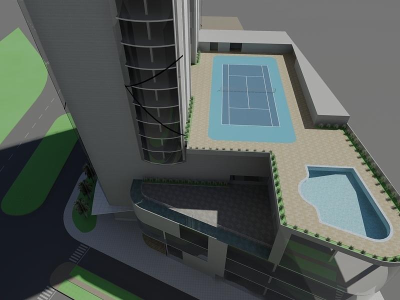 Af arquitectura y mobiliario hotel 5 estrellas for Plano de cocina hotel 5 estrellas
