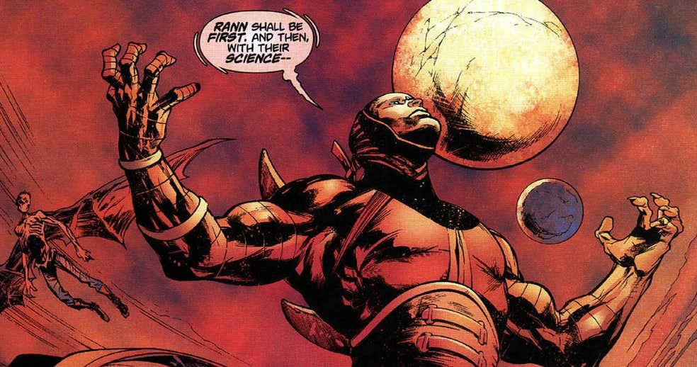 Hawkman villains