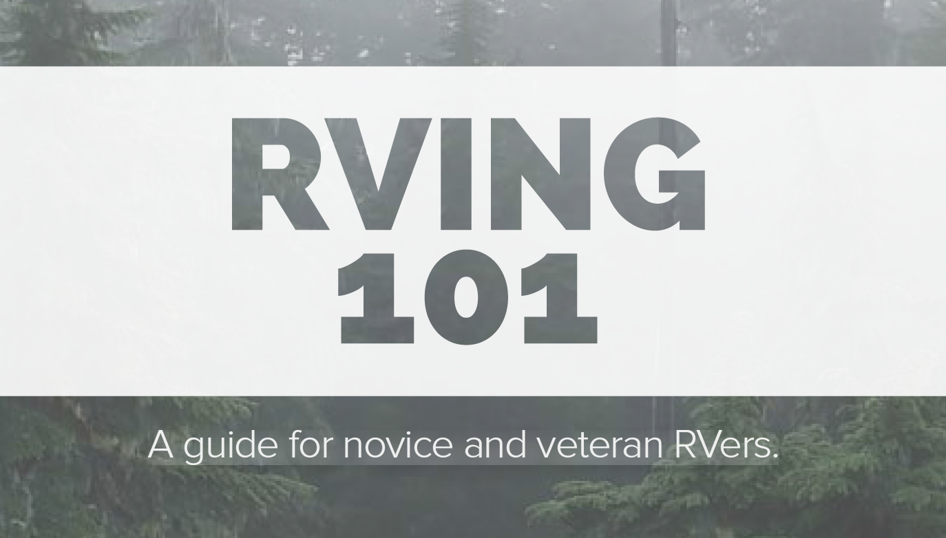 FREE eBook: RVing 101
