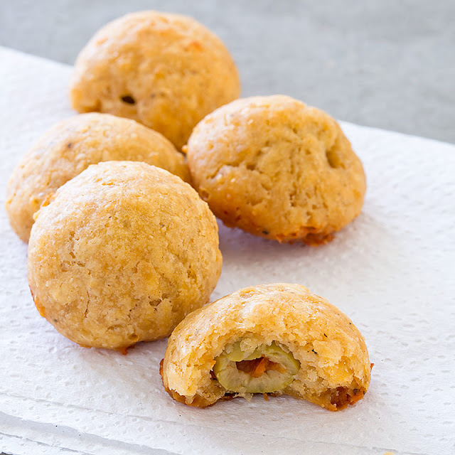Cheddar Olives Recipe