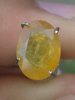 african yellow sapphire