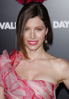 Jessica Biel Loose Bun Hairstyles for Women