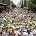 Últimas notícias: protesto contra presidente Dilma segue para Parque do Ibirapuera!