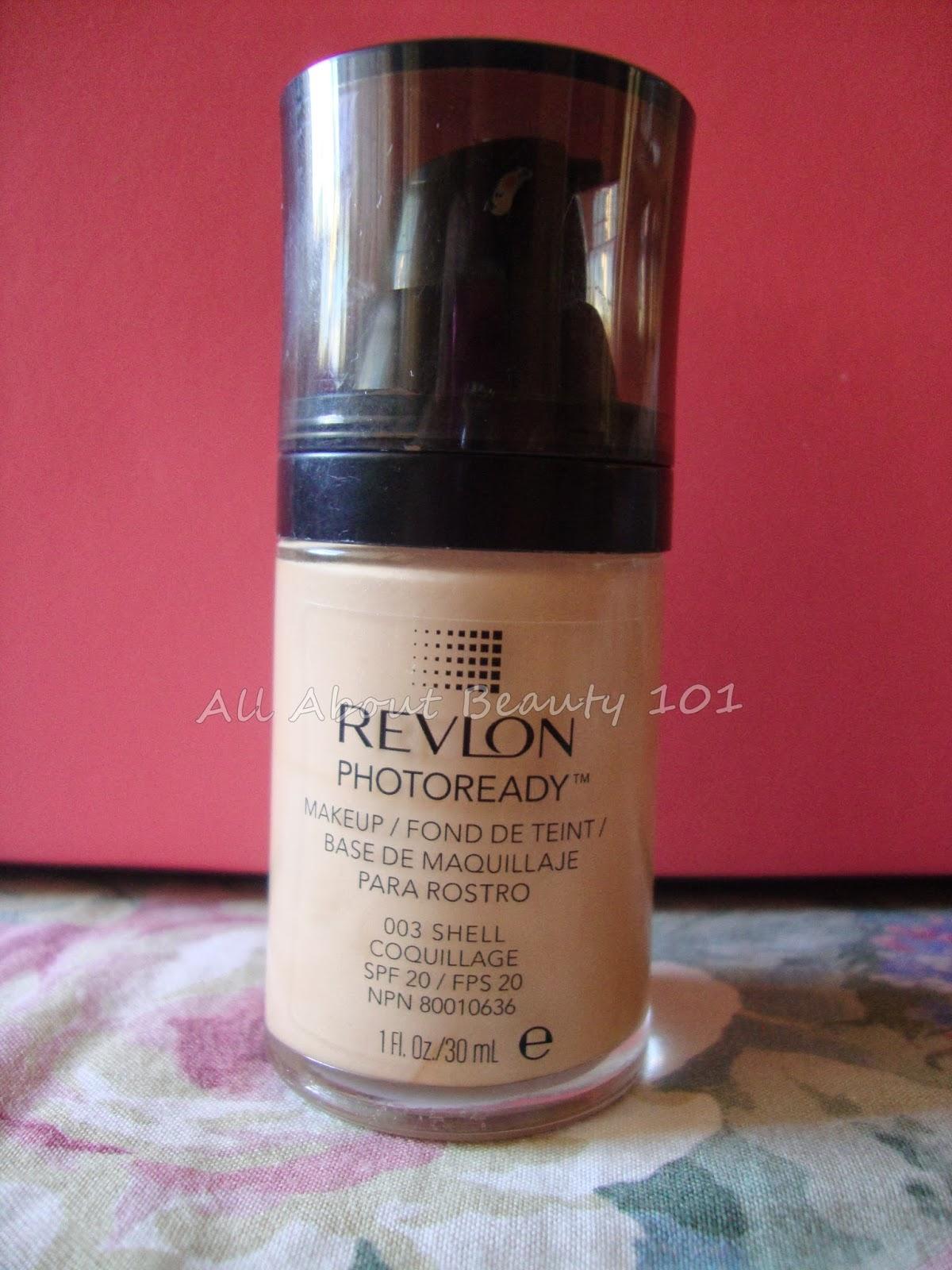Revlon photoready foundation 003