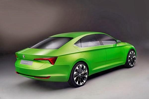 Yeni Skoda coupe formlu sedan