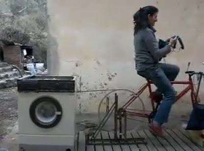 Πλυντήριο χωρίς ρεύμα. VIDEO