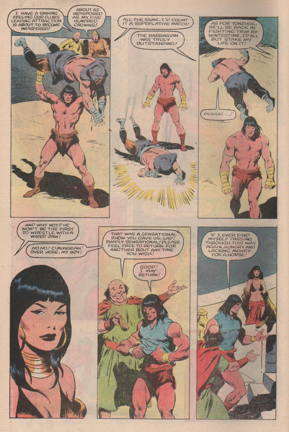 Conan the Barbarian (1970) Issue #159 #171 - English 5